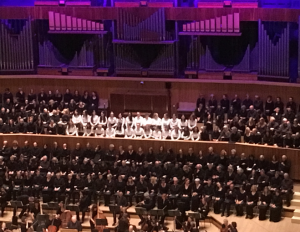 NHEHS Bach choir Royal Festival Hall