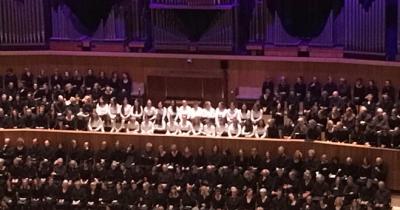 NHEHS Bach choir Royal Festival Hall