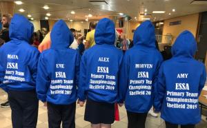 NHEHS Y6 Swim team hoodies
