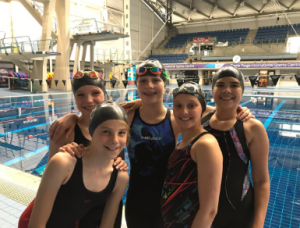 NHEHS Y6 Swimmers