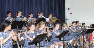 NHEHS Junior Wind band