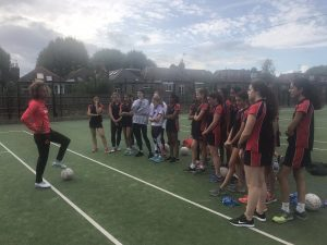 Serena Guthrie Year 8-13 netball workshop
