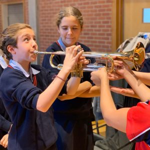trumpet try out endangered instruments NHEHS